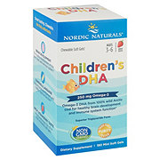 Nordic Naturals Children's DHA 250 mg Chewable Soft Gels, Strawberry