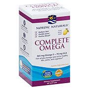 Nordic Naturals Complete Omega-3-6-9 1000 mg, Soft Gels Lemon