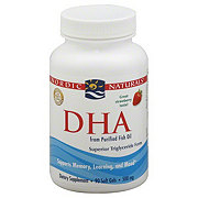 Nordic Naturals DHA From Purified Fish Oil 500 mg Soft Gels, Strawberry
