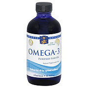 Nordic Naturals Omega-3 Purified Fish Oil Lemon Taste