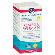 Nordic Naturals Omega Woman Evening Primrose Oil Blend 500 mg Soft Gels