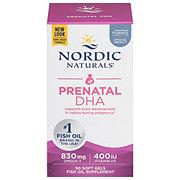 Nordic Naturals Prenatal DHA 500 mg Soft Gels