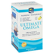 Nordic Naturals Ultimate Omega 1000 mg Soft Gels, Lemon