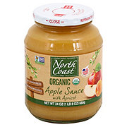 North Coast Organic Apple Sauce with Apricot