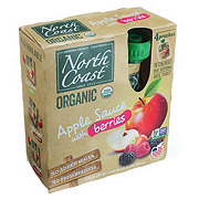 North Coast Organic Apple Sauce with Berries Pouches