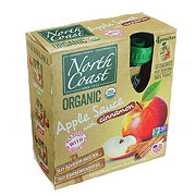 North Coast Organic Apple Sauce with Cinnamon Pouches