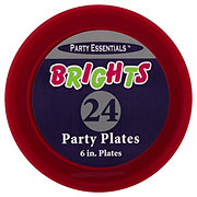 Northwest Party Essentials Brights Party Plates Assorted Colors