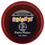 Northwest Party Essentials Brights Plates Assorted Colors