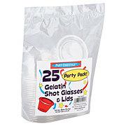 Northwest Party Essentials Party Pack Gelatin Shot Glasses & Lids