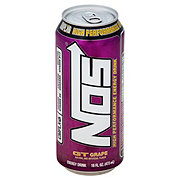 NOS Energy Grape