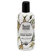 Nourish Organic Almond Vanilla Moisturizing Cream Body Wash