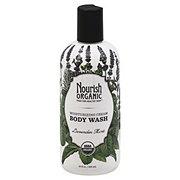 Nourish Organic Lavender Mint Moisturizing Cream Body Wash