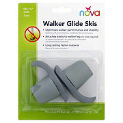 Nova Walker Glide Skis, Grey 2 Pack