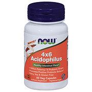 NOW 4x6 Acidophilus Veg Capsules