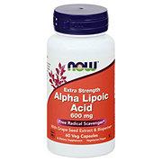 NOW Alpha Lipoic Acid 600 mg Veg Capsules