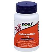 NOW Astaxanthin 4 mg Veggie Softgels