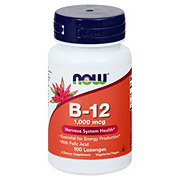 NOW B-12 1000 mcg Sublingual Lozenges
