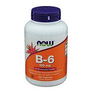 NOW B-6 100 mg Capsules