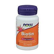 NOW Biotin 1,000 mg Capsules