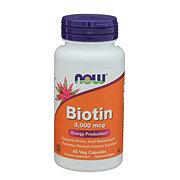 NOW Biotin 5000 mcg Capsules
