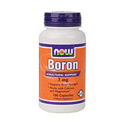NOW Boron 3 mg Capsules