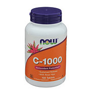 NOW C-1,000 with Rose Hips Tablets