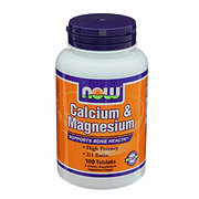 NOW Calcium & Magnesium Tablets