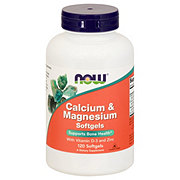 NOW Calcium & Magnesium Softgels