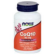 NOW CoQ10 60 mg Softgels