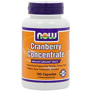 NOW Cranberry Concentrate Capsules