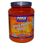 NOW Dutch Chocolate Whey Protein Isolate