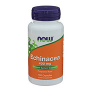 NOW Echinacea 400 mg Capsules