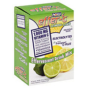 NOW Effer-C Lemon Lime Drink Mix