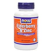 NOW Elderberry & Zinc Lozenges