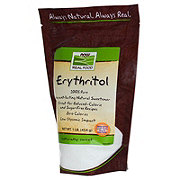 NOW Erythritol Pleasant Tasting Natural Sweetener Pure Powder