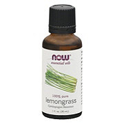 NOW Essential Oils 100% Pure Lemongrass Oil