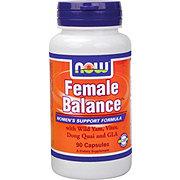 NOW Female Balance Capsules