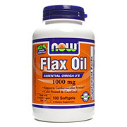 NOW Flax Oil 1000 mg Softgels
