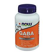 NOW Gaba 500 mg Capsules