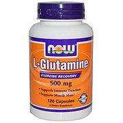NOW Glutamine 500 Mg Capsules