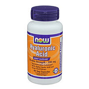 NOW Hyaluronic Acid 100 mg Veg Capsules