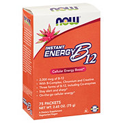 NOW Instant Energy B12 2,000 mcg Packets