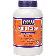 NOW Kelp Caps 550 mg Capsules