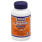 NOW L-Arginine 500 mg Capsules