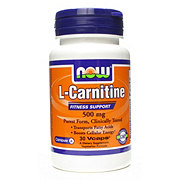 NOW L-Carnitine 500 mg Capsules