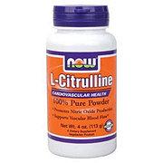 NOW L-Citrulline 100 % Pure Powder