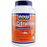 NOW L-Citrulline Capsules 750 Mg