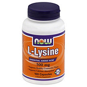 NOW L-Lyseine 500 mg Capsules