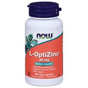 NOW L-OptiZinc 30 mg Capsules