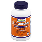 NOW L-Typrophan 500 mg Veg Capsules